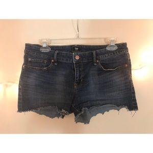 gap brand denim jean shorts